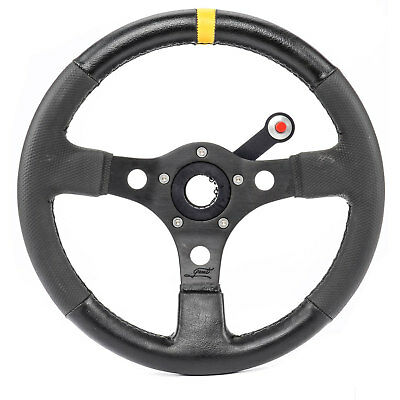JEGS Performance Products 10357K1 Steering Wheel, Button Bracket & Switch Kit