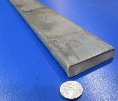 """5160 Steel Bar .499"""" (+/-.008"""") Thick x 2 1/4"""" Wide x 3 Foot Length"""