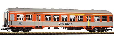 Piko G Scale 37623 DB City-Bahn 1st 2nd Class Coach IV Silver Coin Coach NEW