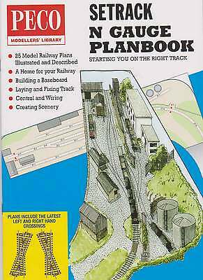 Peco N Gauge Setrack Planbook New Edition Model Railway Layout Track Plans IN-1