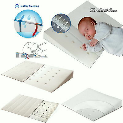 Baby Wedge Anti REFLUX COLIC PILLOW Cushion For Pram Crib Cot Bed DIFFERENT SIZE