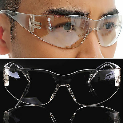 NT Vented Safety Goggles Glasses Eye Protection Protective Lab Anti Fog Clear