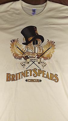 Britney Spears Circus 2009 Concert T Shirt XL