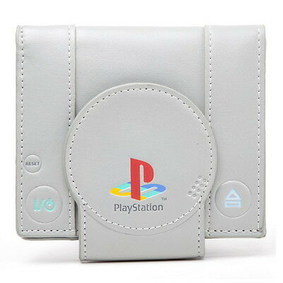 NEW OFFICIAL PlayStation One PS1 Console Shaped Boys Mens Wallet