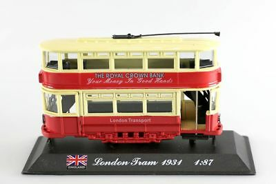 : Miniature tram de Londres 1934 1/87 -