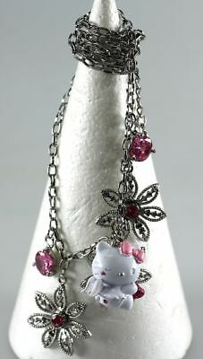 Bijou fantaise Hello Kitty Bracelet quadruple chaines Hello Kitty pendentif Ange
