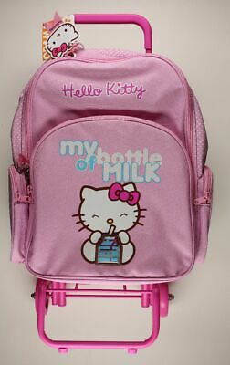 Bagagerie Hello Kitty Trolley Hello Kitty My bottle of milk rose