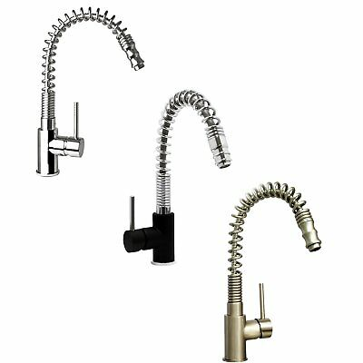 ENKI Kitchen Sink Mixer Tap Pull Out Spray Nozzle Shower Spring Neck SWISS PRO