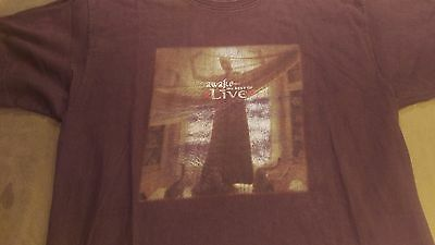 Awake The Best Of Live 2000 Promo T Shirt L