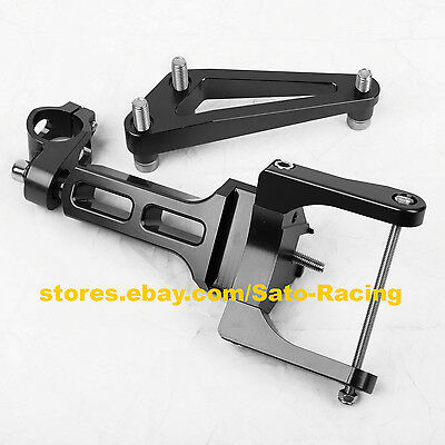For Honda CB1300 03-11 Steering Damper Stabilizer CNC Bracket Mounting Holder