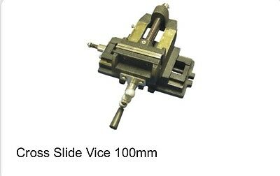 New Cross Slide Vice 100Mm