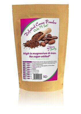 Defatted Cocoa Powder, Fat Reduced, Dukan, Atkins, Sugar Free, Low Carb, Low Fat