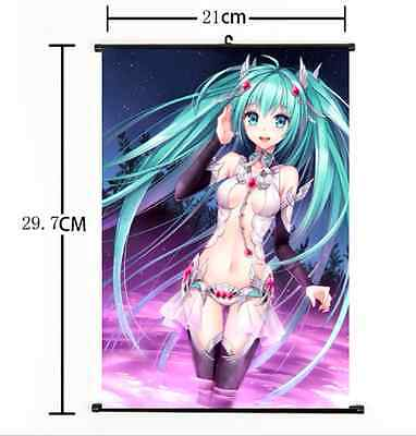 HOT Anime Hatsune Miku/Kagamine Wall Poster Scroll Home Decor Cosplay 259