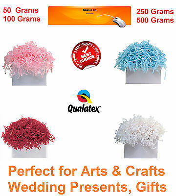 SHREDDED TISSUE PAPER LUXURY Wedding, Hamper, Arts and Crafts, Birthdays, xmas