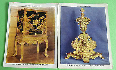 Cigarette Cards WD & HO Wills The King's Art Treasures 1938 Large Good Cond 85