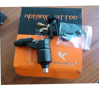 Genuine Hummingbird Rotary Tattoo Machine gun liner shader with box SR2-Black