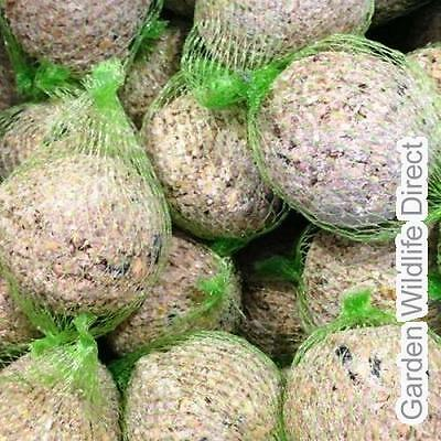 12.5kg (approx. 150) Fat / Suet Balls (With Net) Fatballs / Wild Bird Food - Gar
