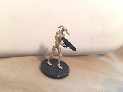 Star Wars Miniatures Clone Wars #21/40 Separatist 4 Battle Droid - NC