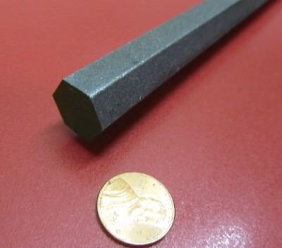 "4140/4142 Carbon Steel Hex Rod 5/8"" Hex  x 3 Foot Length"