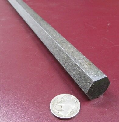 "4140/4142 Carbon Steel Hex Rod 3/4"" Hex  x 3 Foot Length"