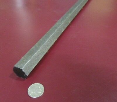 "4140/4142 Carbon Steel Hex Rod 7/8"" Hex  x 3 Foot Length"
