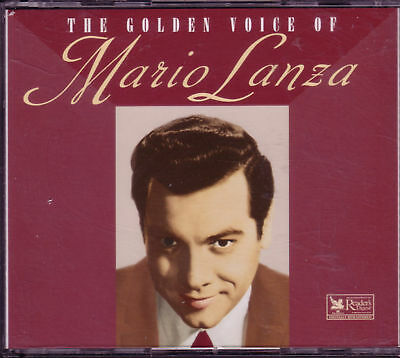 READERS DIGEST MARIO Lanza Golden Voice 3CD Box 60s OOP DANNY BOY NIGHT AND  DAY