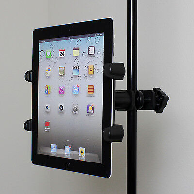 Microfono Stand Teleprompter Supporto Per Tablet Apple iPad 1 2 3 4 Air