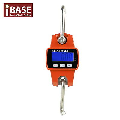 300Kg Electronic Crane Scale Mini Portable Digital Industrial Hook Hanging Free