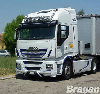Iveco Stralis Cube + Hi-Way S/Steel Lorry Roof Light Bar + LEDs