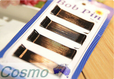New 60 PCS Per Pack Black Hair Pin Secure Cheap Affordable Simple Easy Ball Tip