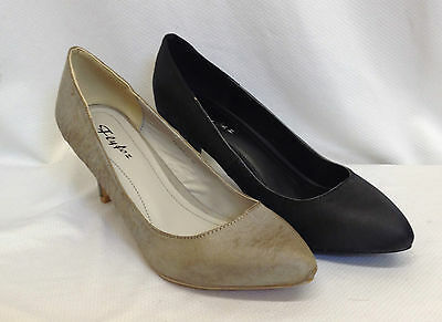 24 Pairs Job Lot Ladies Womens Court Shoes Mid High Heel Smart New Boxed Joblot