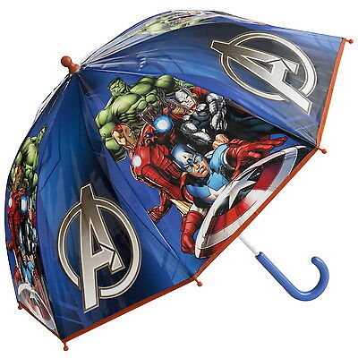 NEW OFFICIAL Marvel Avengers Boys / Kids Bubble / Dome Umbrella / Brolly