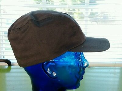 "Vintage 1950's NOS Deadstock ""Kaint Shrink"" Miners Railroad Work Hat Cap Large"