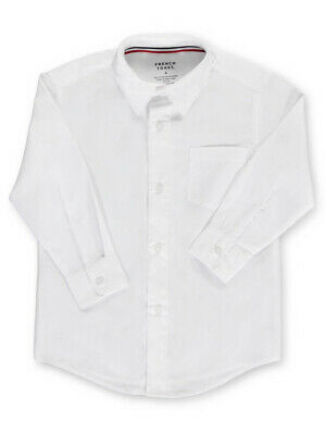 French Toast Little Boys' Toddler L/S Button-Down Shirt (Sizes 2T - 4T)