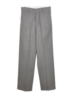 """French Toast Big Boys' """"Woolweight"""" Flat Front Pants (Sizes 8 - 20)"""