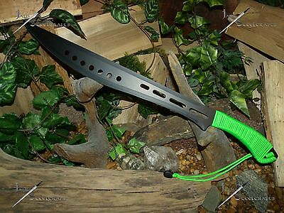 Machete/Knife/Sword/Blade/Full tang/Camping/Survival/Zombie/P550 wrap/S&DENT