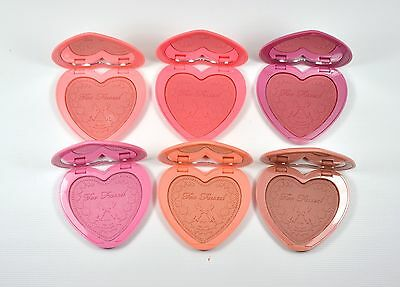 Too Faced Love Flush Blush  Made In USA Choose Your Color Full Size Net Wt 6g
