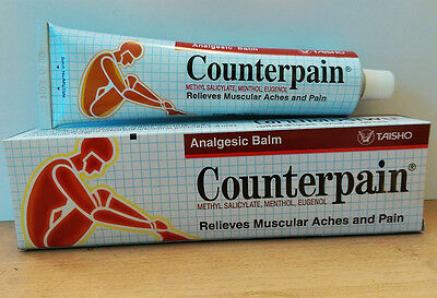 Counterpain 120G Analgesic Balm Massage Relieves Muscular Ache Pain Free Ship