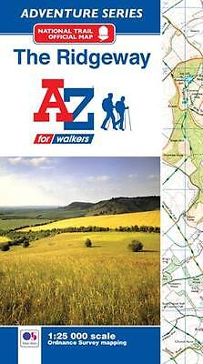 The Ridgeway Adventure Atlas by A-Z Maps (Paperback, OS 25000 mapping)
