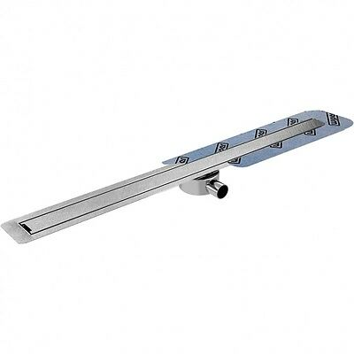 WIPER INVISIBLE SLIM 600mm  FLOOR LEVEL LOW PROFILE TILEABLE LINEAR SHOWER DRAIN
