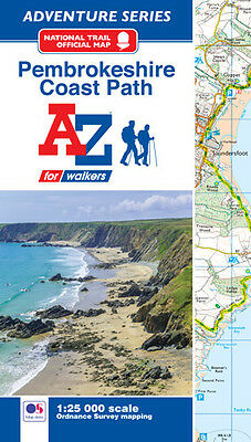 Pembrokeshire Coast Adventure Atlas by A-Z Maps (Paperback OS 25000 mapping)