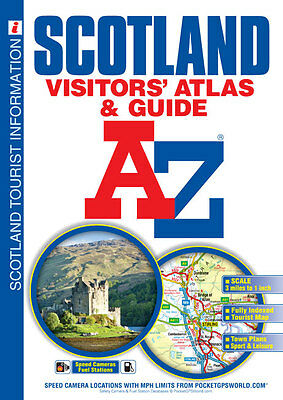 Scotland Visitors' Atlas by Geographers' A-Z Map Company (Paperback, 2015)