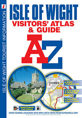 Isle of Wight Visitors Atlas & Guide by A-Z Map Company (Paperback 2014)
