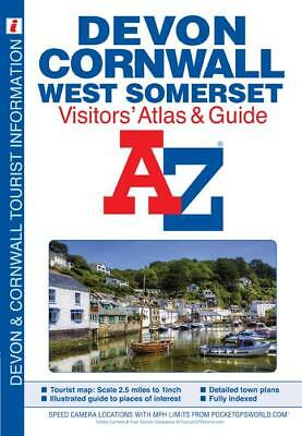 Devon, Cornwall and West Somerset Visitors' Atlas by A-Z Maps 2015