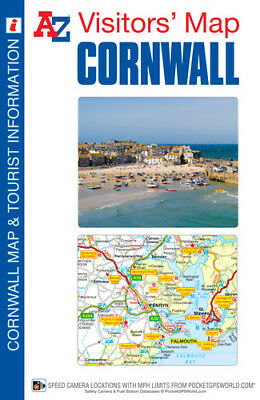 Cornwall Visitors Map by A-Z Map (Sheet map, folded)