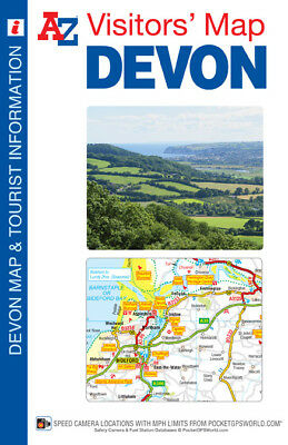 A-Z Devon Visitors Map 2018 (Sheet map, folded, road map)