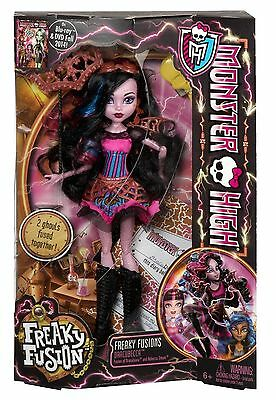 Monster High Freaky Fusion - Dracubecca Doll BJR38 NEW