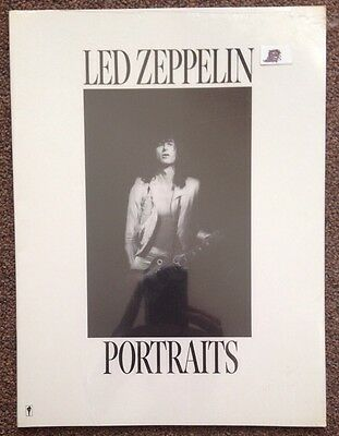 Led Zeppelin Portraits 1986 First Edition Neal Preston SEALED!