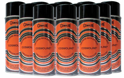 12 Cans Cosmoline Industrial Rust Preventative Lubricating Oil 12 oz