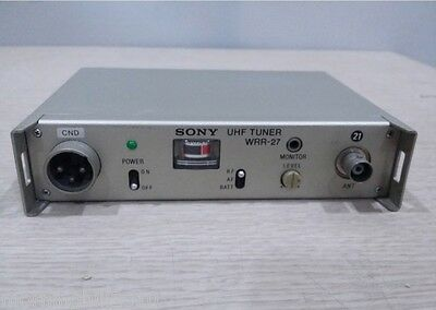 Sony UHF Portable Tuner WRR-27